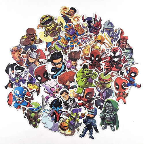 The Hero Store Sticker Collection