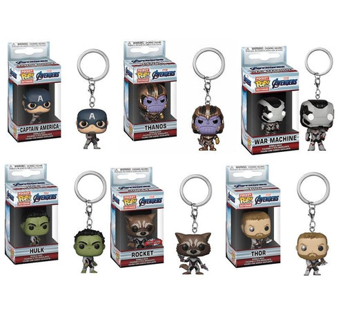 Heroes Keychain Collectibles Vol. 4 (5+ Funko Pop Keychains)