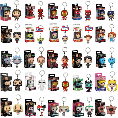 Heroes Keychain Collectibles Vol. 6 (40+ Funko Pop Keychains)