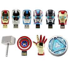 Load image into Gallery viewer, Marvel USB 2.0 Flash Drives