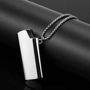 The Hero Store Stainless Steel Lighter Necklace