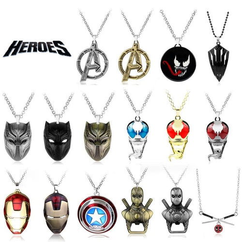 Heroes Necklaces Vol. 1 (20+ Necklaces)