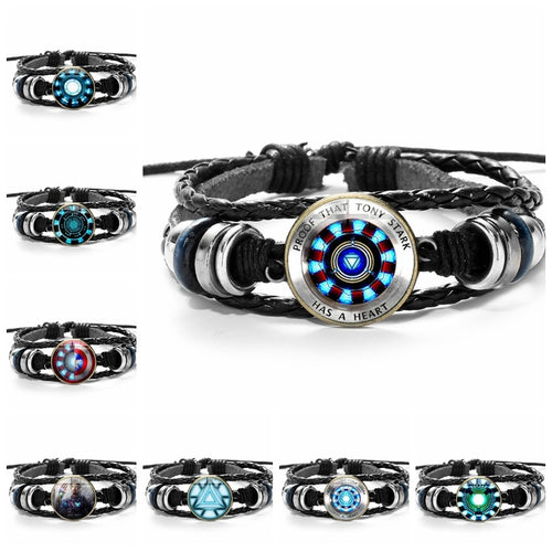 Marvel Leather Bracelets