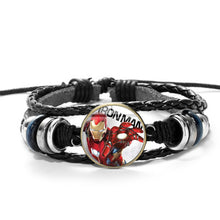 Load image into Gallery viewer, Marvel Leather Bracelets
