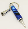Hand Turned Keychain Pen with Stylus