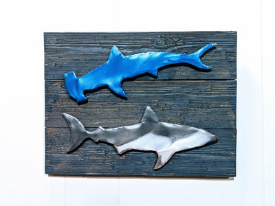 Shark Wood Art