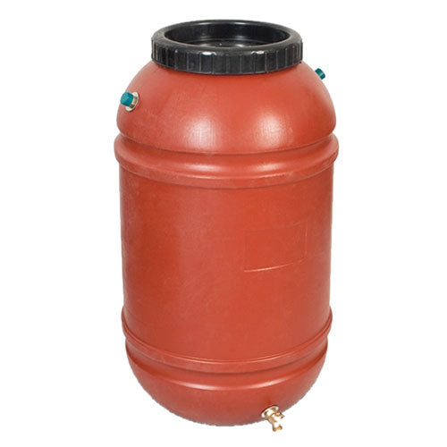 Terracotta Rain Barrel