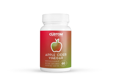 Apple Cider Vinegar — Supports Healthy Digestion* - Custom Health Centers