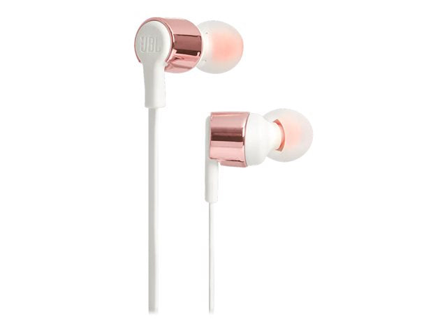 JBL Earphones T210 Wired In Ear Gold