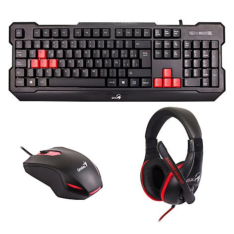 Genius kit Gaming KMH-200 Teclado Mouse Aud-micro