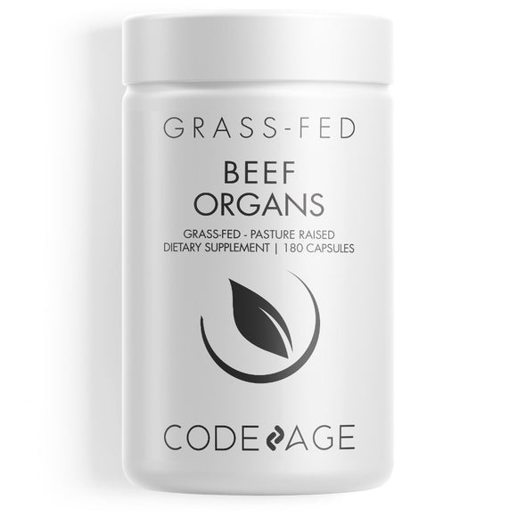 Codeage - Grass Fed Beef Organs