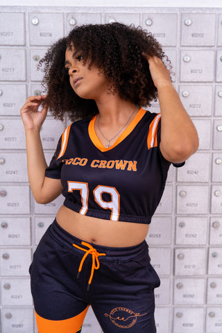 Ora Jersey Crop Top