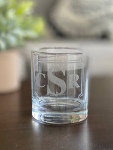 Whiskey Glass - Personalized Etching