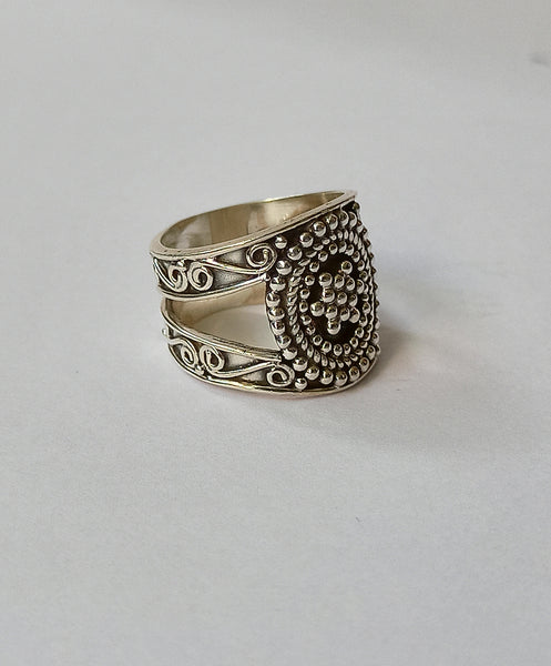 925 Solid Sterling Silver Handmade Master Ring