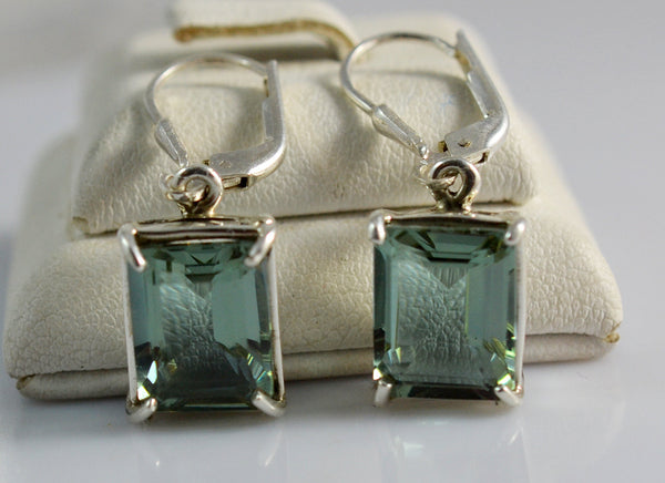 Alexandrite 100% Color Change Sterling Silver Royal Earrings - NavyaCraft