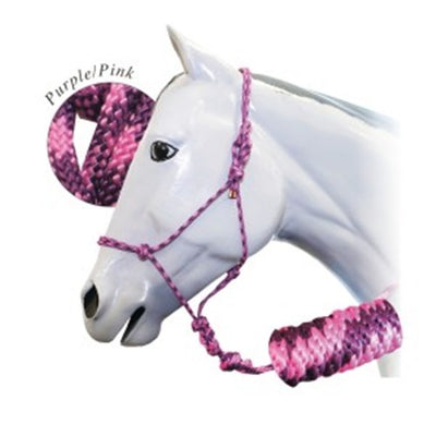 FORT WORTH ROPE HALTER WITH 10FT LEAD