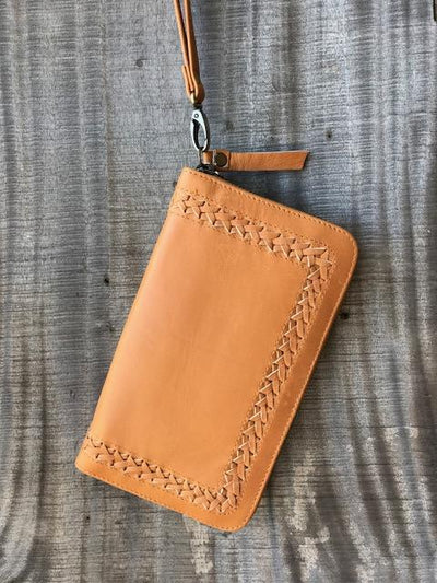 BARE LEATHER SAGE WALLET