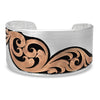 MONTANA BRACELET OVER THE HORZION ROSE GOLD CUFF