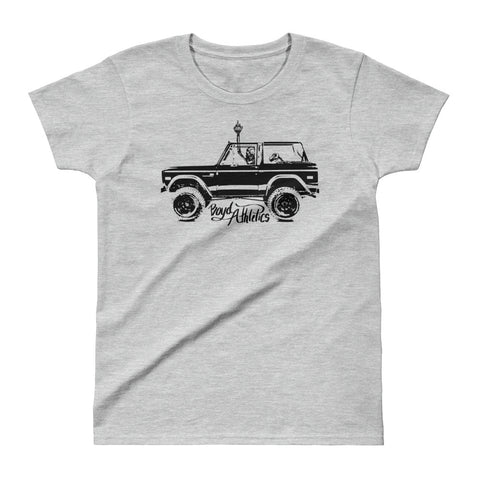 Women's Roadtrip Skully Tee