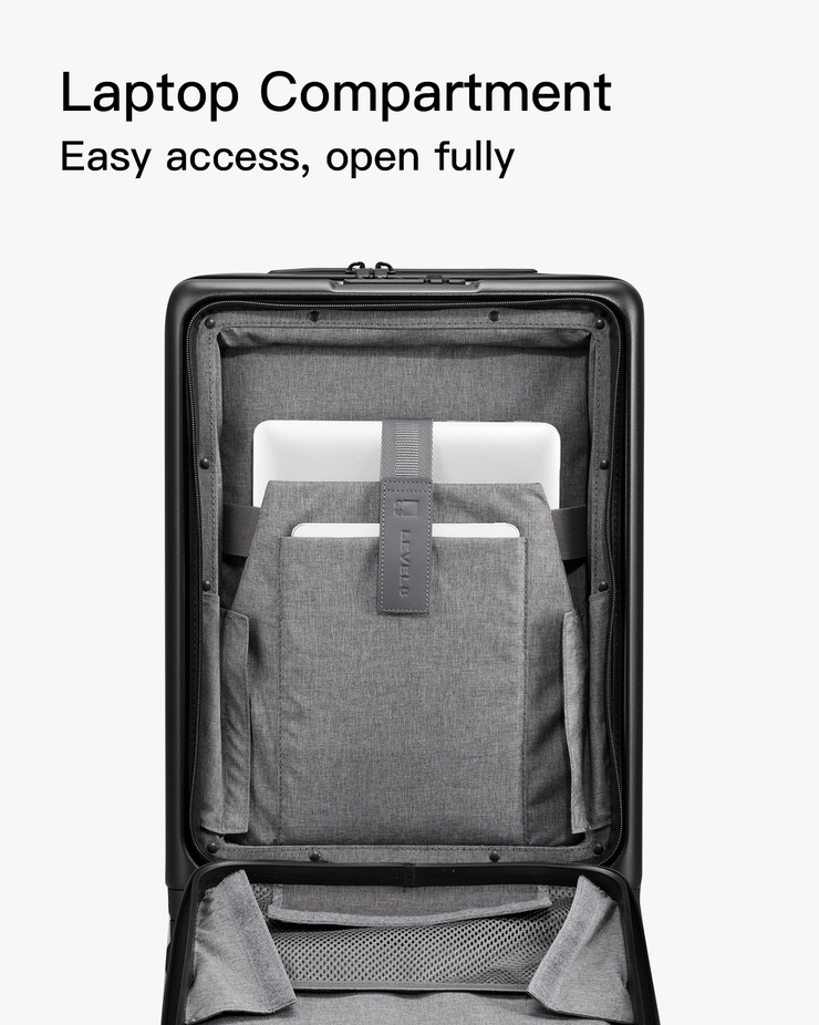 carry on luggage with laptop compartment