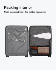 carry on suitcase-packing interior