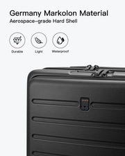 carry on suitcase-durable hard shell