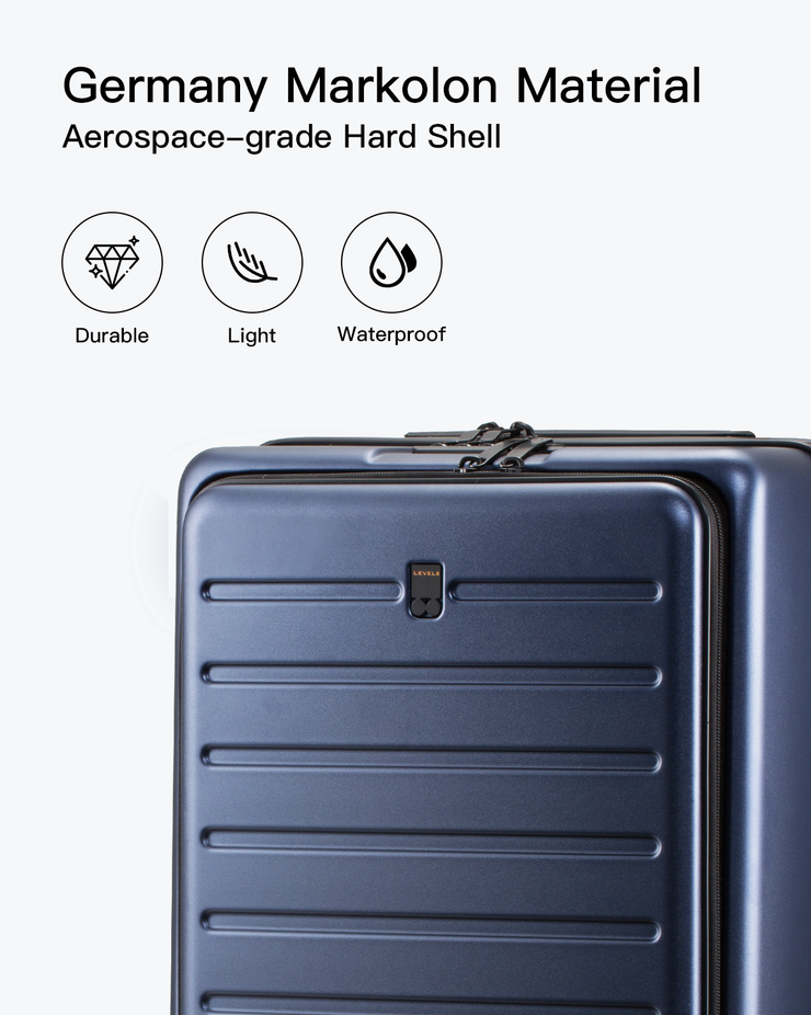 carry on luggage-durable hard shell