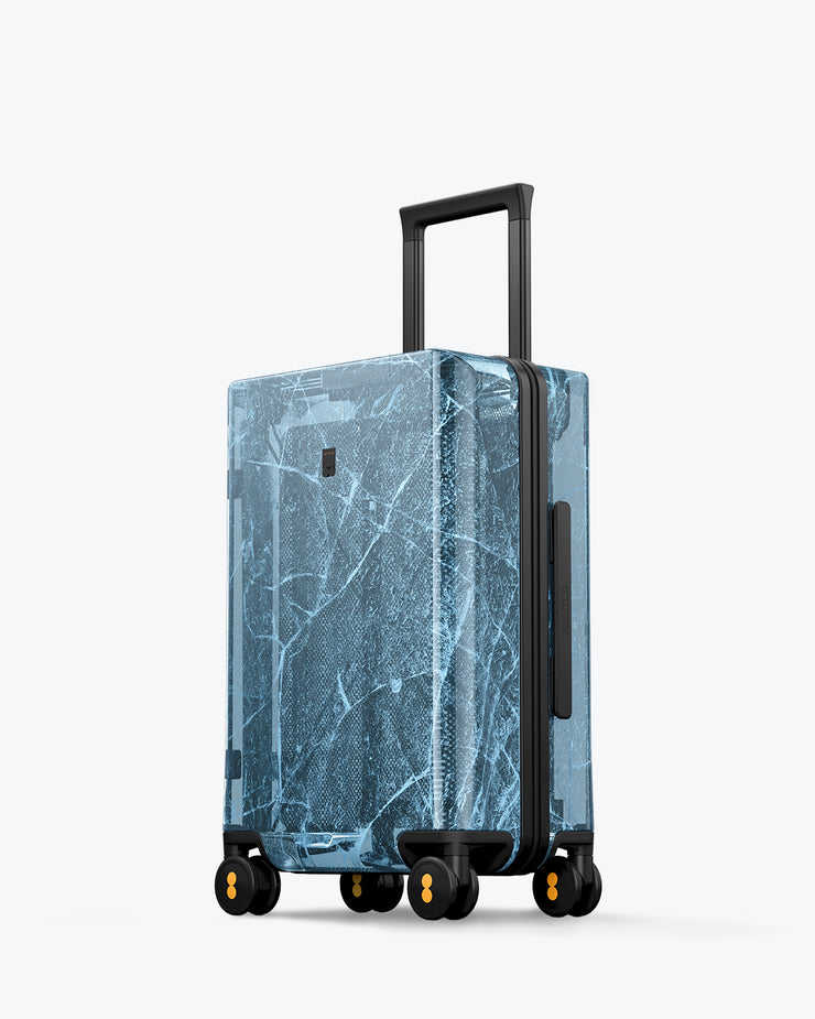 Fantasy Transparent Carry-On Luggage 20""