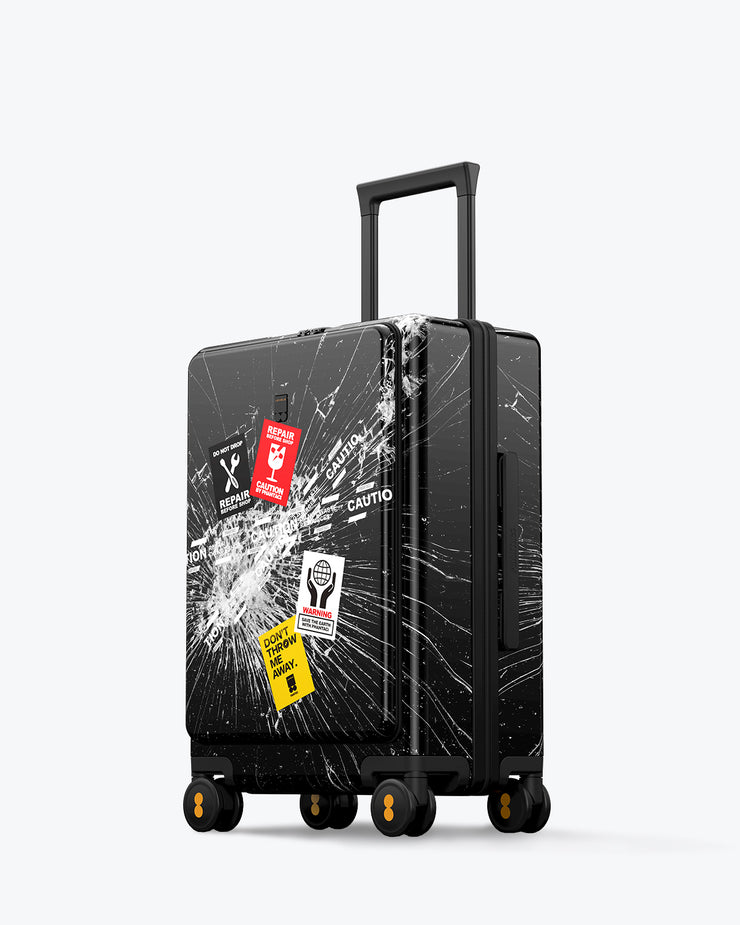 "LEVEL8 Fantasy Road Runner Carry On Luggage 20"" (PC Shell Material)"