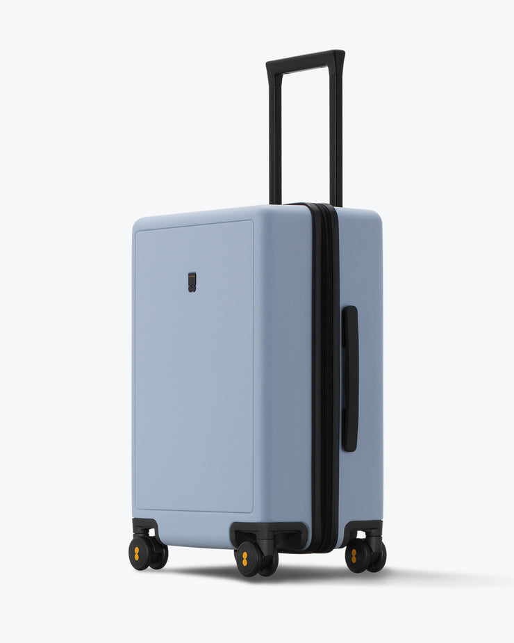 checked bag for travel lightblue