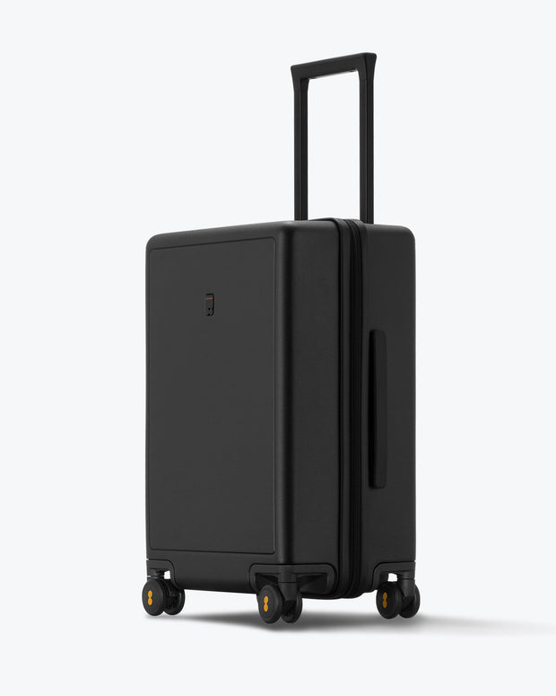 checked bag for travel black