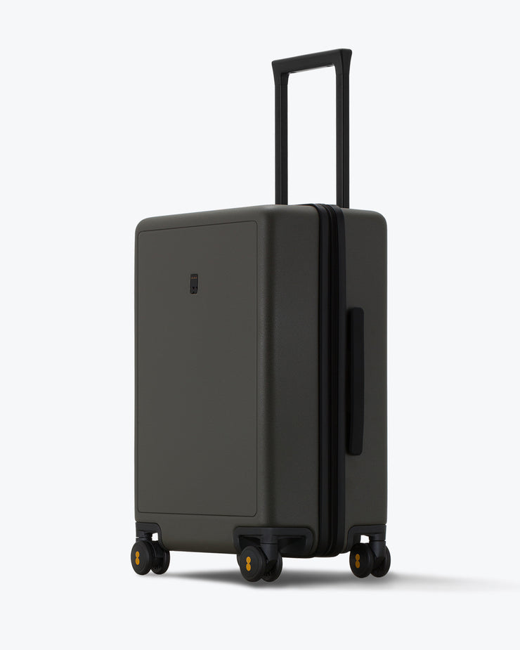 Elegance Matte Check In Luggage Black