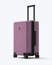 checked bag for travel Violetpink
