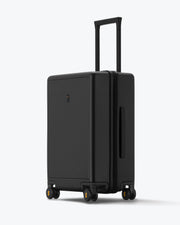 black checked bag for travel
