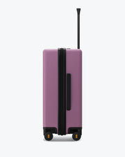 checked travel bag Violetpink