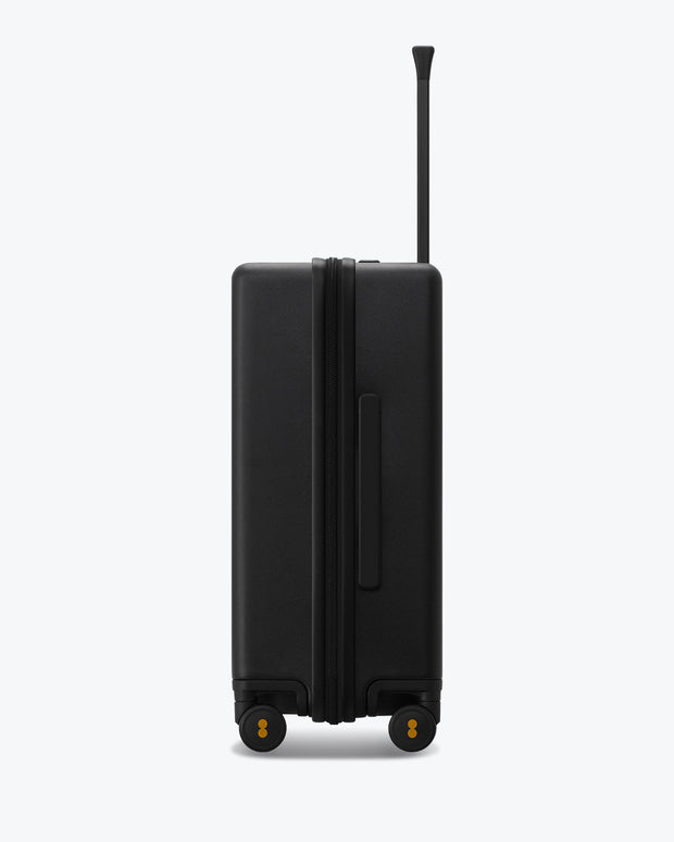 Elegance Luggage, Check-in Luggage, Best Travel Luggage, Business Travel Luggage, Fashion Luggage, Check in Luggage Trolley, Black, Matt-Black