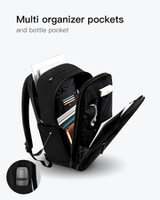 laptop backpack with multi organizer pockets