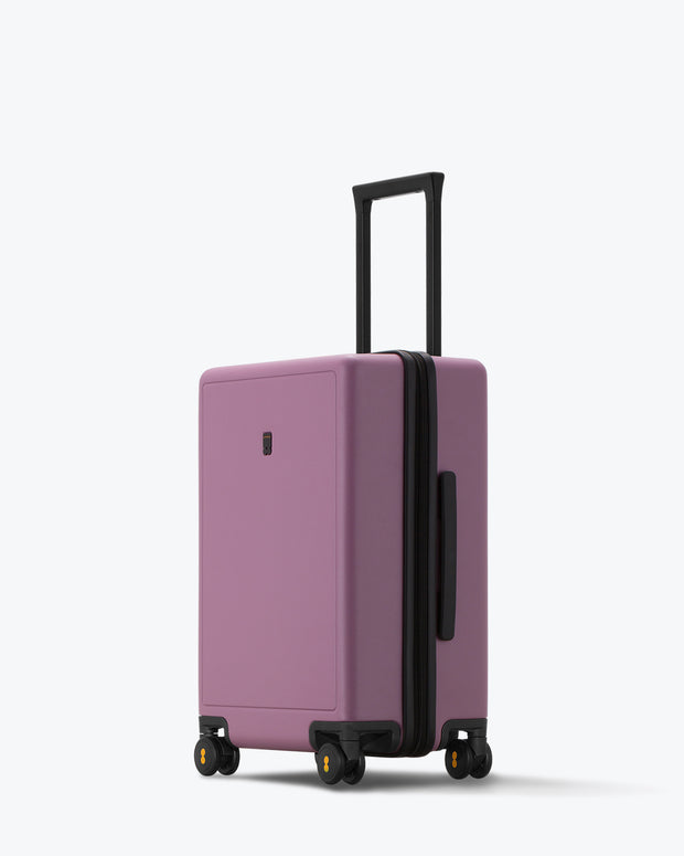 "Elegance Matte Carry-On Luggage 20"" Violetpink"