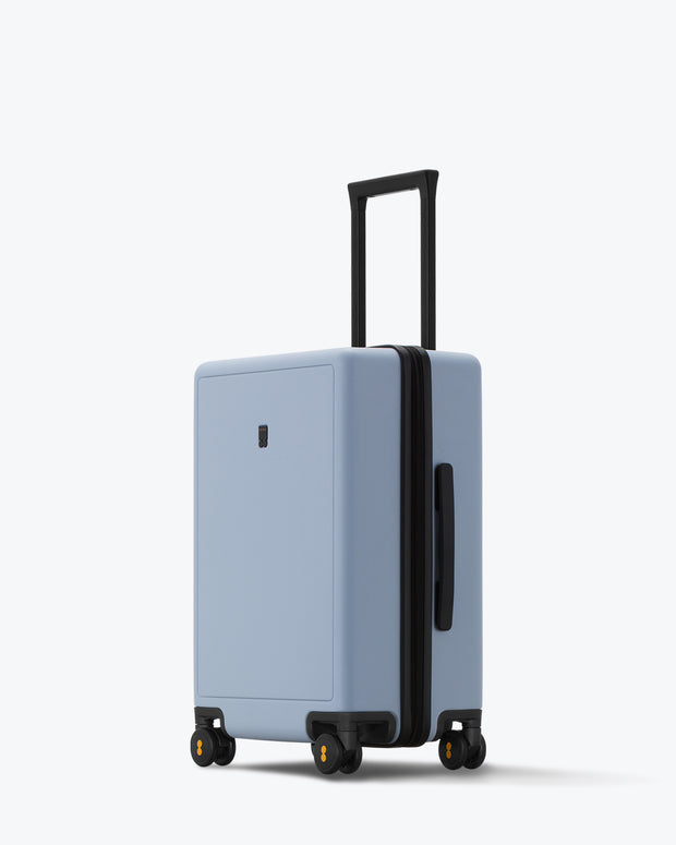 "Elegance Matte Carry-On Luggage 20"" Lightblue"