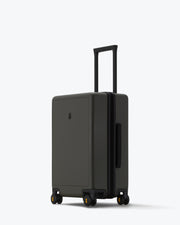 "Elegance Matte Carry-On Luggage 20"" Darkolive"