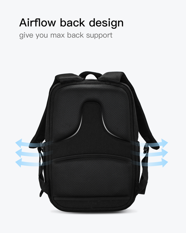 laptop backpack back design