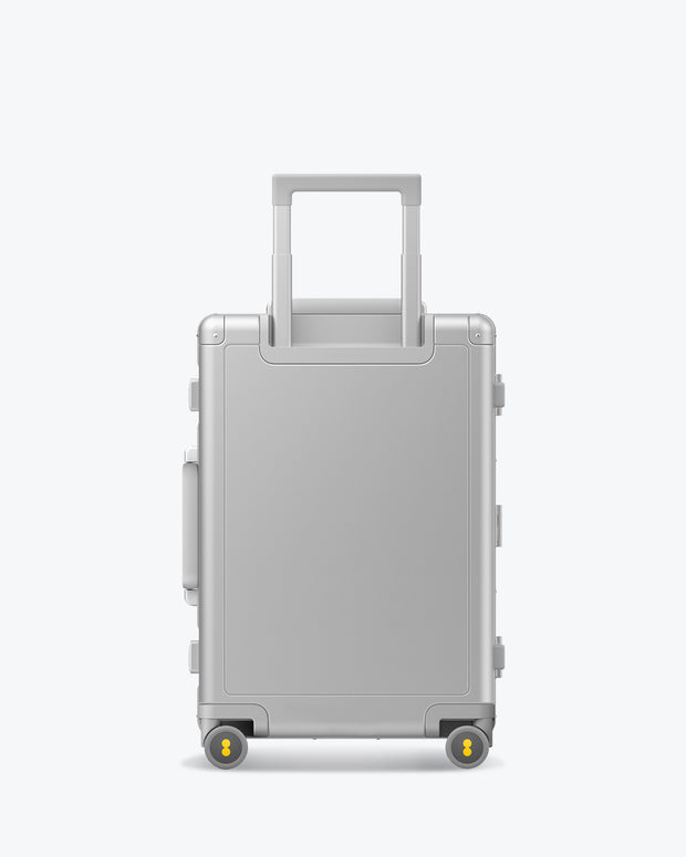 business aluminum luggage
