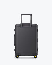 Alluminum Luggage, Carry on Luggage, Business Travel Luggage, Buy Carry on Luggage, Dark Grey, Space grey, Sleek Luggage