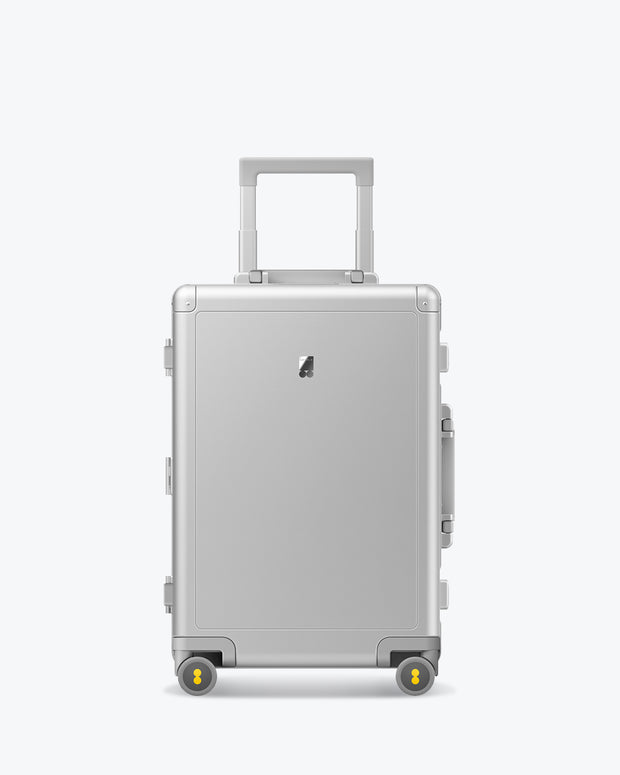 aluminum carry on suitcase