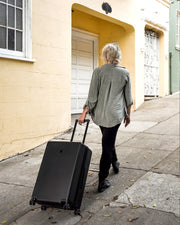 Elegance Textured Check In Luggage(Only Available in USA)