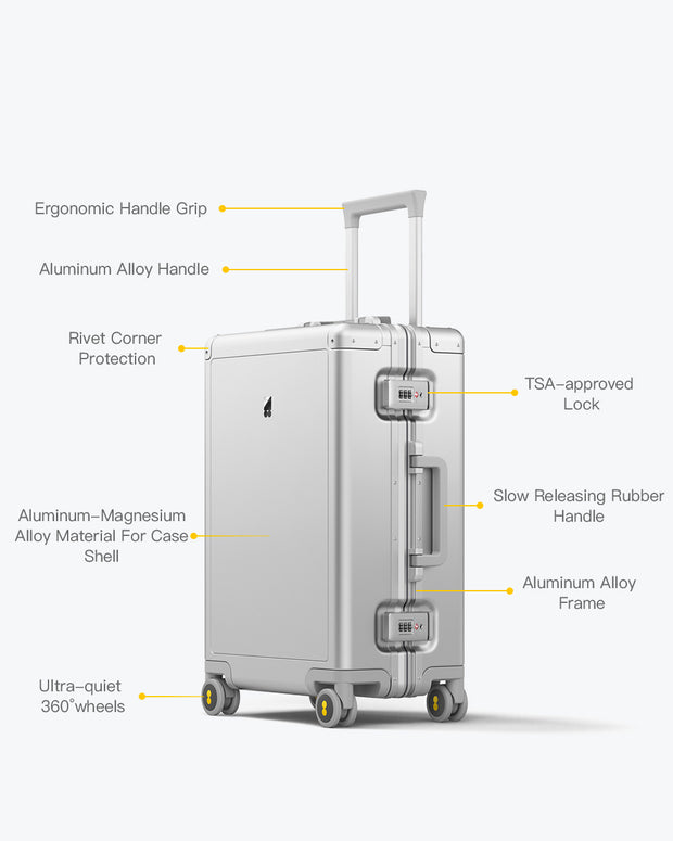 Full Aluminum Carry-On