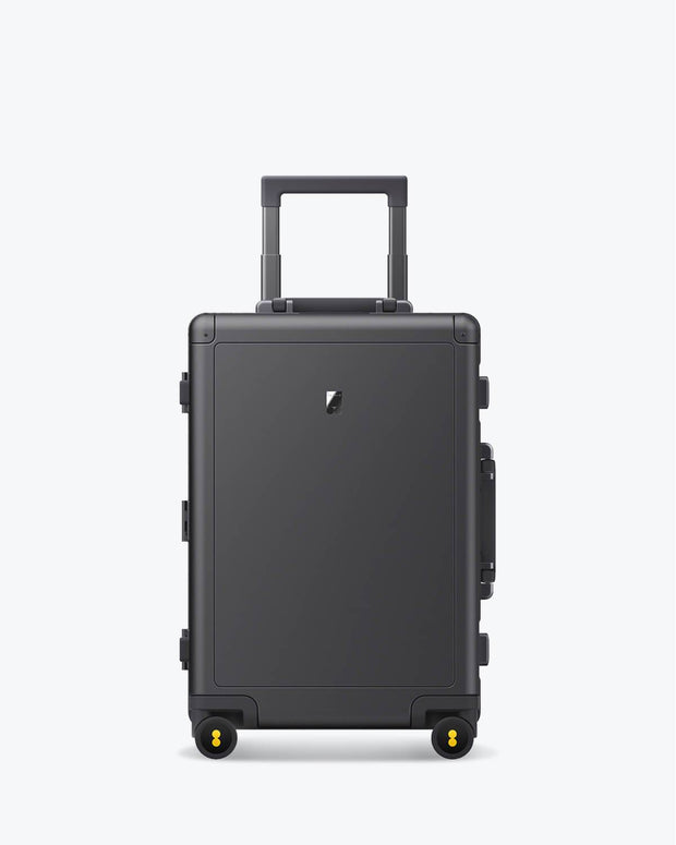 aluminum carry on luggage bag