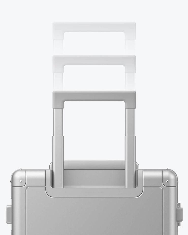 aluminum luggage handle