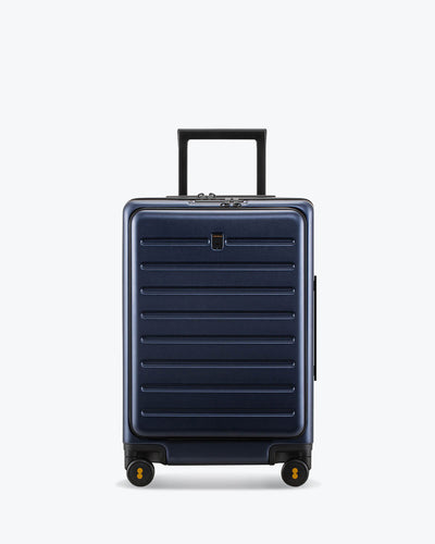 luggage with front pockt for laptop