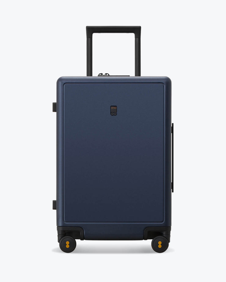 checked luggage bag navy